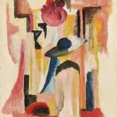 August Macke, Studie zu hellem Schaufenster