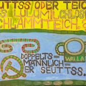August Walla SEUTTS ODER TEICH (1990)