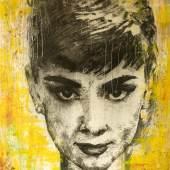 Aurdey Hepburn portrait La Perfection 92 by Nahid Shahalimi  (c) Nahid Shahalimi
