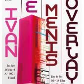 "Plakat ""Ausstellung Ivan De Menis Overlays"""