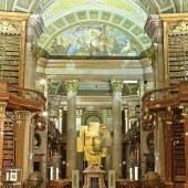 Prunksaal der Österreichischen Nationalbibliothek mit der Beethoven Sonderausstellung – © Österreichische Nationalbibliothek