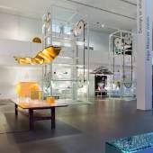 """AUSSTELLUNGSANSICHT 1  Ausstellung """"Ingo Maurer intim. Design or what?"""" Foto: Anna Seibel Exhibition """"Ingo Maurer intim. Design or what?"""" Photo: Anna Seibel"""