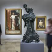 """Ausstellungsansicht """"Geschlechterkampf. Franz von Stuck bis Frida Kahlo"""""""
