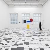 Ausstellungsansicht Museum Haus Konstruktiv, 2021. Foto: Stefan Altenburger