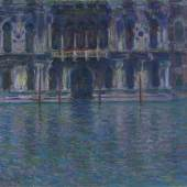 Claude Monet, Der Palazzo Contarini, 1908, Privatsammlung.