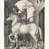 Albrecht Dürer, Das Kleine Pferd, 1505 Kupferstich Dauerleihgabe Stift Stams   © TLM