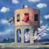 Lettl - Die Hochzeit des Figaro - 2006 - 67x70 cm
