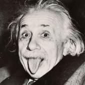 ARTHUR SASSE (1908–1975), Albert Einstein, The Princeton Club in New York, 14. März 1951