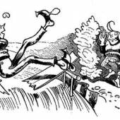 Bild: Wilhelm Busch, Max und Moritz 1865