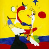 Joan Miró, Komposition (Kleines Universum), 1933  Fondation Beyeler, Riehen/Basel  © VBK, Wien 2010