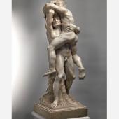 Riccardo Bacarelli (stand 154)    1 / 3  Tommaso Rues (Brunico 1636-1703 Venezia) Hercules and Antaeus