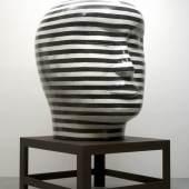 Jun Kaneko, Head 05-10-14, Courtesy of Elaine Baker Gallery, Boca Raton