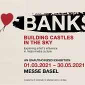 """Banksy """"Mädchen mit Ballon"""" in Strips"""