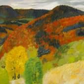 Guy Bardone (1927) 'Automne Jura' Öl auf Leinwand 63,5 x 79,5cm Schätzpreis: 1.200 – 1.500 Euro