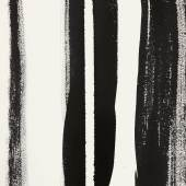 Barnett Newman Untitled 1960 Brush and ink on paper Sheet: 14 x 10 inches Estimate $800,000/1.2 million