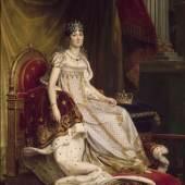 Joséphine im Krönungsornat Baron François Gérard, 1807/08 Öl auf Leinwand Musée National du Château de Fontainebleau