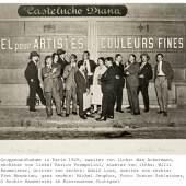 Gruppenaufnahme in Paris, 1926