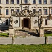 Eingangssituation von Schloss Altdöbern © Deutsche Stiftung Denkmalschutz