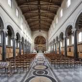 Das Innere der Friedenskirche in Potsdam © Roland Rossner/Deutsche Stiftung Denkmalschutz