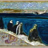 Billy Childish sea of galilee (version z), 2012 Öl und Kohle auf Leinen 61 x 81 cm © Billy Childish, Carl Freedman London, Lehmann Maupin New York, neugerriemschneider Berlin