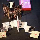 Zahlreiche Künstler, noch mehr Bücher, viele Besucher und beste Stimmung: das bietet die BuchDruckKunst