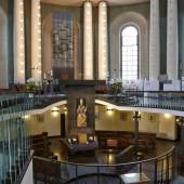 Innraumgestaltung der St. Hedwigs-Kathedrale in Berlin © Roland Rossner/Deutsche Stiftung Denkmalschutz