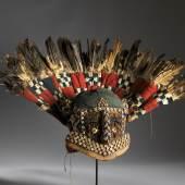Beaded Ceremonial Head Adwonzen Grassland people, Cameroon