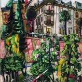 Max Beckmann (1884–1950) Das Nizza in Frankfurt am Main, 1921 Öl auf Leinwand 100.5 x 65 cm Göpel 210 Kunstmuseum Basel, mit einem Sonderkredit der Basler Regierung erworben, 1939 Foto: Kunstmuseum Basel, Martin P. Bühler © ProLitteris, Zürich