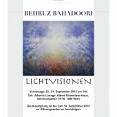Plakat: Behruz Bahadoori