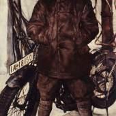 Lotte Laserstein, Am Motorrad, 1929, Stiftung Deutsches Historisches Museum, Berlin, Inv.-Nr. 1990/2491 © Foto: Deutsches Historisches Museum/ A. Psille © VG Bild-Kunst, Bonn 2019