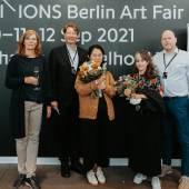 Berlin Hyp Preisträgerinnen Maria Seitz (r) und Jaeyun Moon (l)