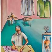 Bhupen Khakhar De-Luxe Tailors 1972 250,000 GBP - 350,000 GBP