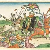 Biblia germanica - Neunte Deutsche Bibel. Nürnberg 1483. Schätzpreis: € 60.000