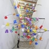 Title : Plastic Tree C Artist : Pascale Marthine Tayou Date : 2014