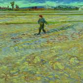 Vincent van Gogh Le semeur, 1888 Öl auf Leinwand, 72 x 91,5 cm Dauerleihgabe, Hahnloser/Jaeggli Stiftung, Kunstmuseum Bern Fotografie: Reto Pedrini, Zürich