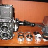 Fotoausrüstung  ROLLEIFLEX