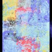 DENK ART 2020, Plasticolortype Composition D55, Acryl Mix, Hartfaserplatte, 120 x 104 cm, Foto: Wolfgang Mayer, © DENK ART