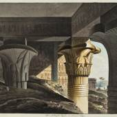 Faszination Ägypten - Der verschüttete Pronaos des Horus-Tempels © Residenzgalerie Salzburg