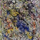 Jackson Pollock: Reflection of the Big Dipper, 1947, Collection Stedelijk Museum Amsterdam © VG Bild-Kunst, Bonn 2019