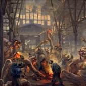 Heinrich Kley: Die Krupp'schen Teufel, um 1912/13, LWL-Industriemuseum – Westfälisches Landesmuseum für Industriekultur Foto: LWL-Industriemuseum