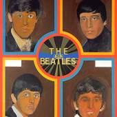 Peter Blake The Beatles 1962  1963-1968  Acryl auf Hartfaserplatte 122 x 91,6 cm  © Pallant House Gallery, Chichester