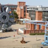 Blick aus das Gelände des Museums der Arbeit, Foto SHMH Museum der Arbeit