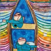 Friedensreich Hundertwasser* (Vienna 1928–2000 near Brisbane, Australia) 831 Tender Dinghi, 1982