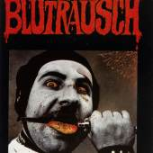 """Konzertplakat """"Blutrausch"""", 1979 Foto © Stefan Weber"""
