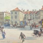 CARL PIPPICH: 8., ALSER STRASSE – NIEDERÖSTERREICHISCHES FINDELHAUS, 1880-1890 © Wien Museum