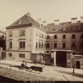 AUGUST STAUDA: 8., ALSER STRASSE 23 – FINDELHAUS, 1885-1915 © Wien Museum
