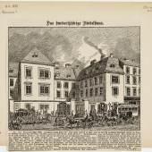 DAS HUNDERTJÄHRIGE FINDELHAUS, 1884 © Wien Museum