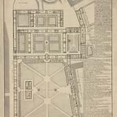PLAN DES ALLGEMEINEN KRANKENHAUSES, 1784 © Alseum (Bezirksmuseum Alsergrund)