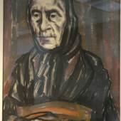 Peter August Böckstiegel Flüchtlingsfrau