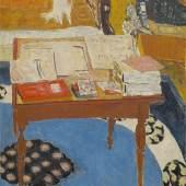 Pierre Bonnard (1867–1947) Arbeitstisch, 1926/37 Öl auf Leinwand, 121,9 x 91,4 cm National Gallery of Art, Washington © VG Bild-Kunst, Bonn 2017